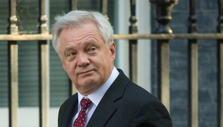 David Davis next in line to the Tory Party throne
