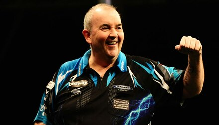 Taylor 9/1 for seventh Grand Slam of Darts crown