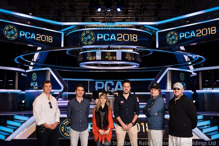 PCA 2018: Final table player profiles