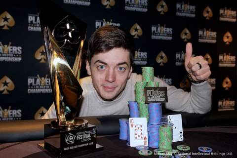 PokerStars Festival London: Dragos Trofimov wins HR for £73,990, plus Platinum Pass!