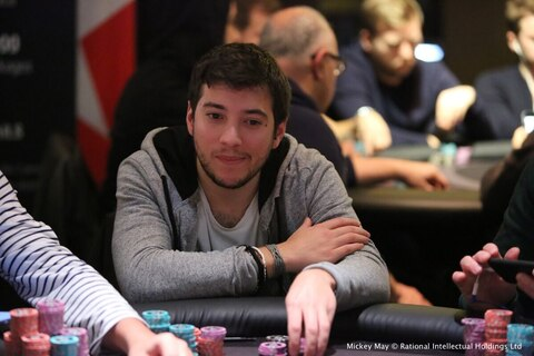 PokerStars Festival London: Stylianos Nykteridis finishes as chipleader in Main Event Day 1B