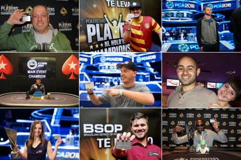 2018 PSPC Platinum Pass winners Hall of Fame
