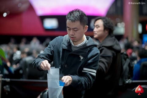 PokerStars MPC28: Chunhui Ji Snags Red Dragon Day 1A Chip Lead