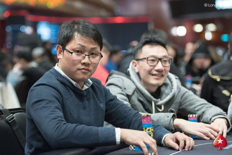 f1482f9b814 PokerStars MPC28  Lianqin Luo leads MPC28 Red Dragon after Day 1B
