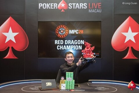 Alvan Zheng wins MPC28 Red Dragon, HK$3,000,000, and Platinum Pass