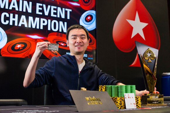 Champion Lin Wu_2018 APPT Macau_Main Event_Final Table_Giron_8JG0032