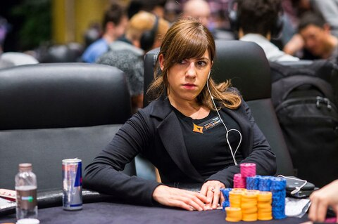 Seeking second title in a week, Kristen Bicknell leads APPT Macau High Roller with 14 remaining
