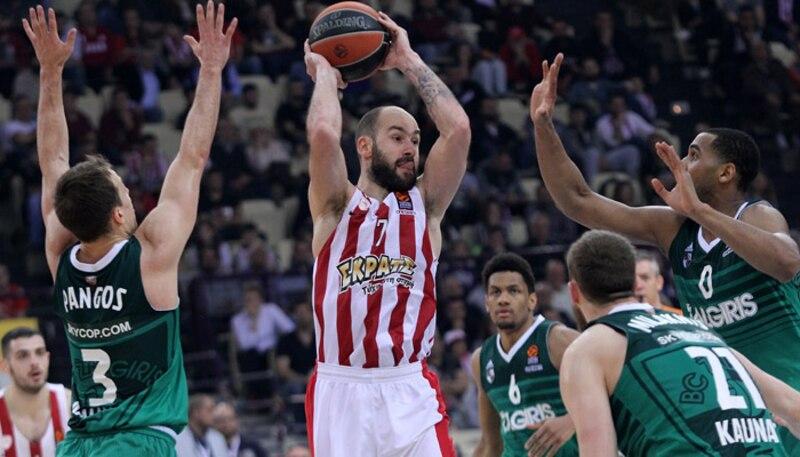 Betstars, Olympiacos vs BC Zalgiris, pronosticos deportivos
