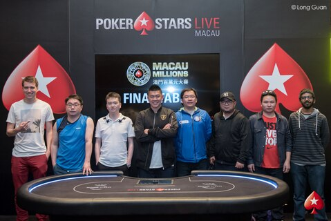 2018 Macau Millions Main Event - Day 2 Live Updates
