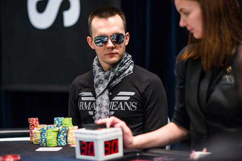 EPT Monte Carlo: Mikita Badziakouski bags lead to end rollicking €100K Super High Roller Day 1
