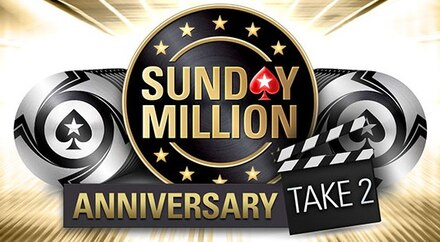 VIDEO: $10 million Gtd in the Sunday Million Anniversary Take 2 this weekend