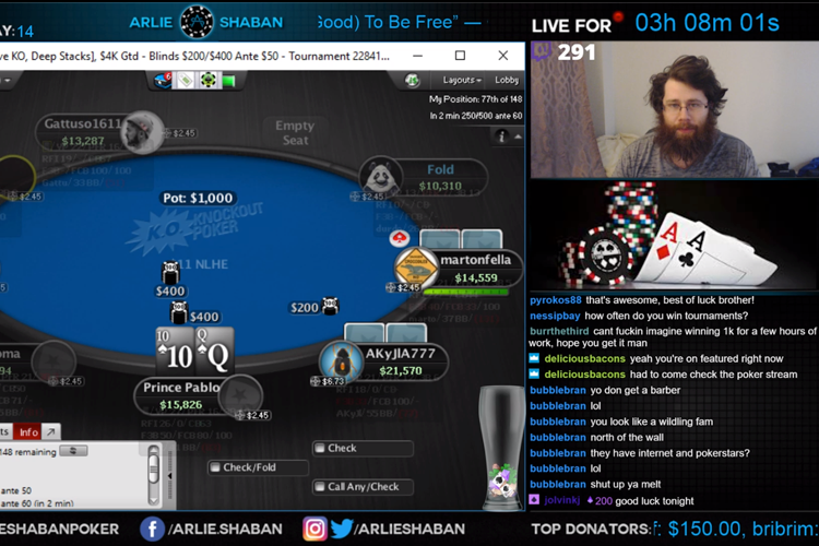 Stream poker francais baccarat one piece treasure cruise