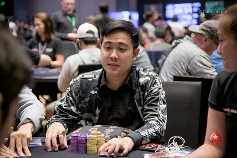 Kyungkun Lee leads Day 1a of the Manila Megastack 9