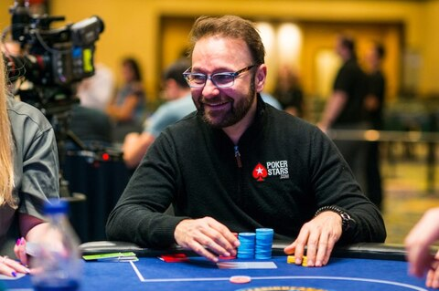 Daniel Negreanu second at Super High Roller Bowl final table