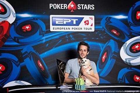Albert Daher's top dog, wins EPT Monte Carlo €25K High Roller