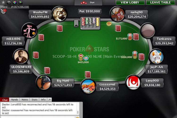 pokerstars support