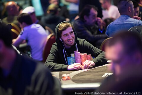 Endrit Geci grabs top spot after Day 1 of the PokerStars Festival Marbella Main Event