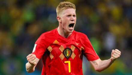 France vs Belgium: De Bruyne free to fire Red Devils into final