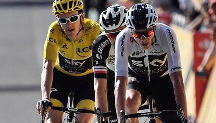 Tour de Francia: Froome tiene al enemigo en casa