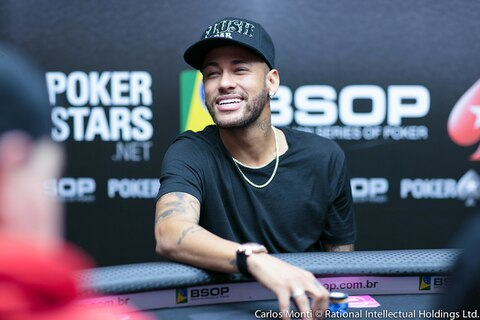 Can he kick it? Neymar Jr. makes Day 2 of BSOP High Roller, 4th of 19 remaining