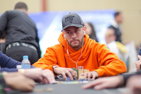 Neymar Jr. reaches BSOP High Roller final table! All the details, including the live stream, right here