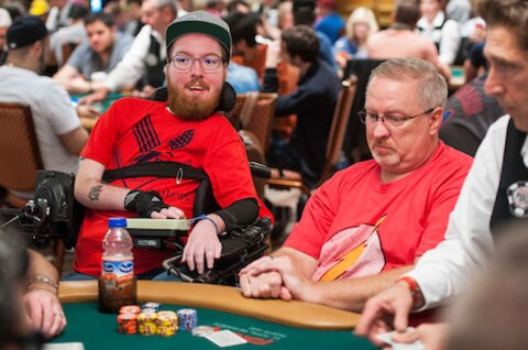 WSOP 2018: From the archive: K.L. Cleeton continues inspiring run
