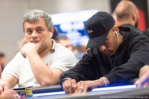 EPT Barcelona: Just about the only thing that will stop someone noticing Neymar Jr. walking into the room