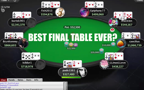 10 great moments in the history of WCOOP (Part I)
