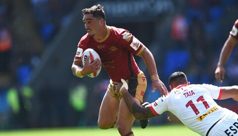 Challenge Cup final: Dragons too strong for Wolves