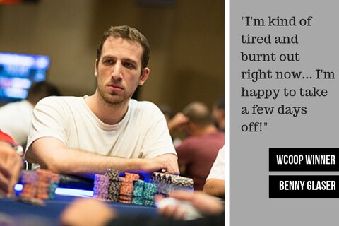 INTERVIEW: Mixed-game crusher Benny Glaser on his first WCOOP title