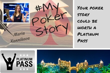 Can you tell a story? Use it to win a Platinum Pass