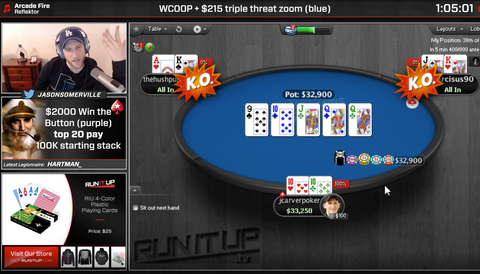 Jason Somerville returns to Twitch, Lex Veldhuis and Jeff Gross make WCOOP Day 2s