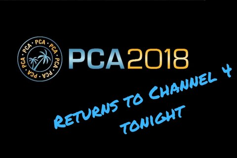 Coverage of PCA 2018 continues on Channel 4 tonight