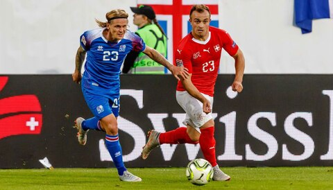 Football accumulator tips: Swiss too hot for Iceland