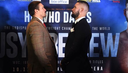 Usyk vs Bellew: No happy ending for Bomber