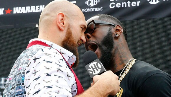 Wilder vs Fury: Battle for heavyweight title at Staples Center