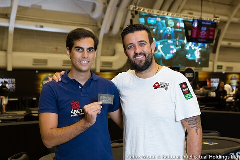 From the BSOP to the PSPC: Caio Calmon wins Andre Akkari's Platinum Pass Adventure