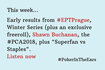 Poker in the Ears: Shawn Buchanan is this week's guest