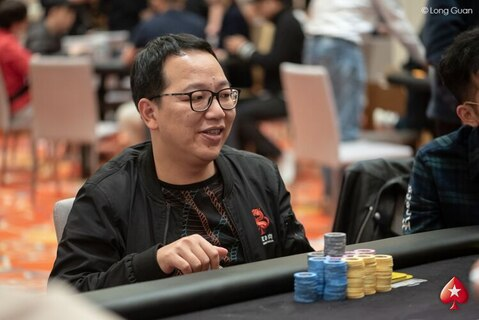 Red Dragon 2018 High Roller: Huahuan Feng leads the counts at the end of Day 1