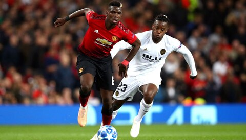 Valencia vs Manchester United: Pogba gets chance to impress