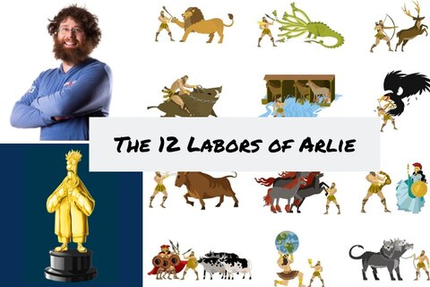 Looking back on the 12 Labors of Arlie Shaban