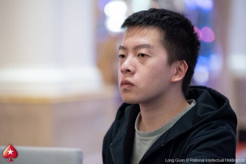 Jeju Red Dragon 2018 Main Event: Tian Le Wang bags 144,100 for the chip lead at the end of Day 1B