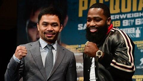 Manny Pacquiao vs Adrien Broner: