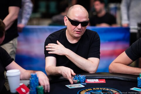 Michael Robionek's deep PSPC run fuels future away from tables