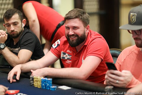 PCA 2019: Alexander Kharkov takes early Main Event Day 1A lead