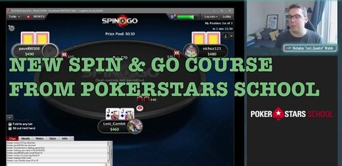 PokerStars School and OP Poker team up for new Spin & Go course