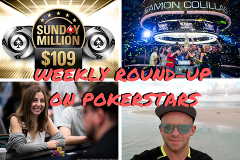 WEEKLY ROUND-UP: New $109 Sunday Million, PSPC champ on his journey to $5.1M, and more