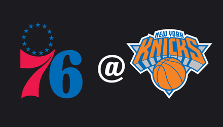 76ers @ Knicks: Philadelphia looking to add another loss to New York's streak