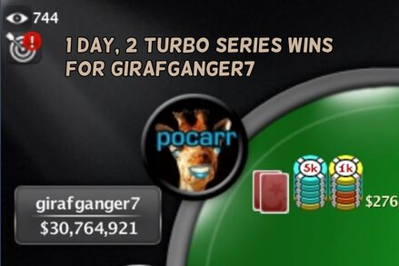 Turbo Series: Two titles in a day for girafganger7, redemption for luk9r, plus the latest results