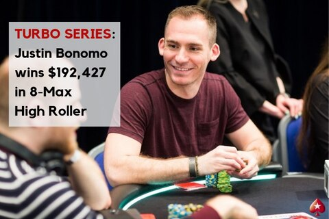Turbo Series: Bonomo bags high roller title, plus full results from the weekend